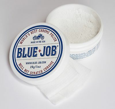 Blue-Job® Chrome Polish-Perfect for your Motorcycle!