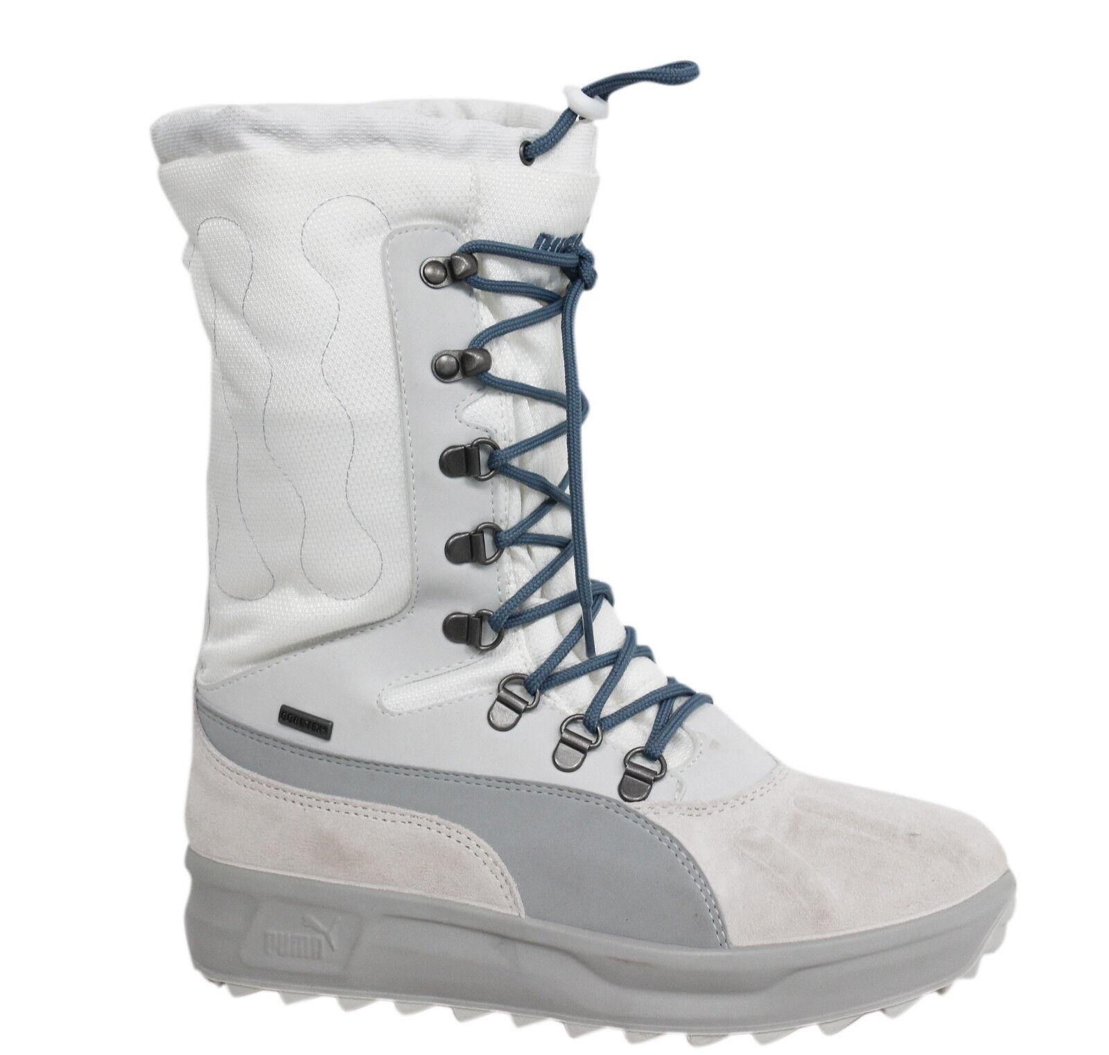 Details zu Puma Niveus GTX Gore tex Schnürer Weiß Damen Sturm Zellen Stiefel 304271 08 B8B