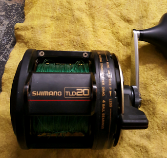 Shimano TLD 20 & Converse rod Coombabah Gold Coast North Preview