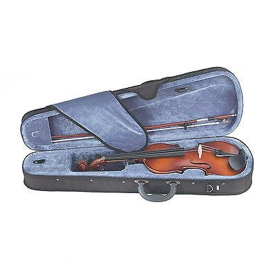 Mendini Violin Wood Black Blue Pink Purple White 4/4 3/4 1/2 1/4 1/8 1/10 +Tuner