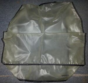 Vintage Tandy computer dust cover