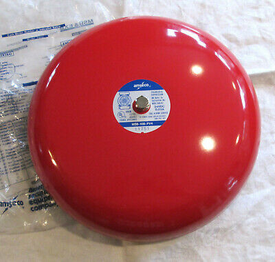 Amseco Msb-10b-pv4 Fire Alarm Bell Gong