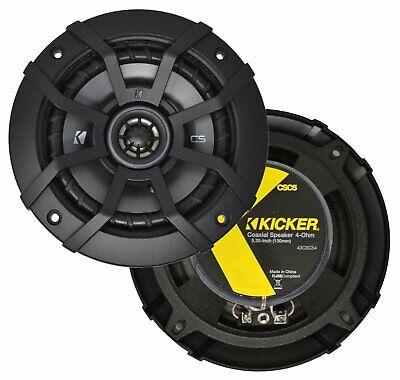 "Kicker 40CS54 5.25"" 2-Way Speaker Pair"