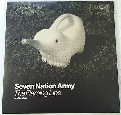 "The Flaming Lips ""Seven Nation Army""  Limited Edition 7"