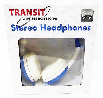 Auriculares Estéreo Transit Accesorios Azul Flexible