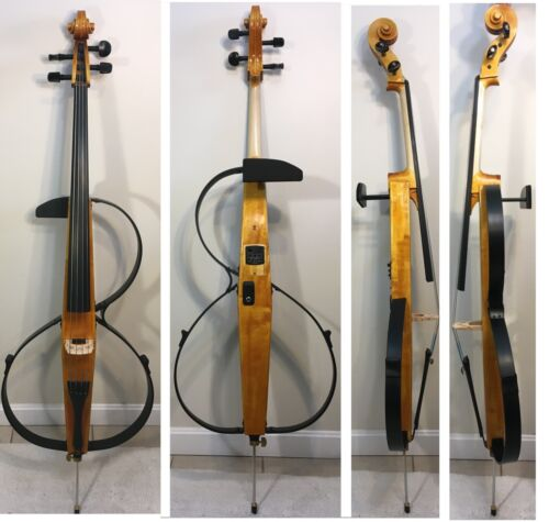 Electric Silent cello / Luthier 2020 Natural