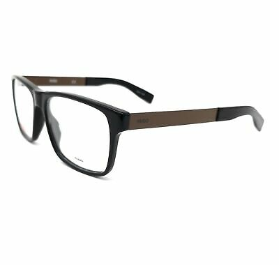 HUGO by Hugo Boss Eyeglasses HG 0203 R60 Black Brown Men 54x16x140