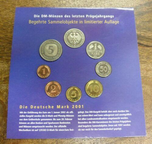 2001 Germany Proof Set