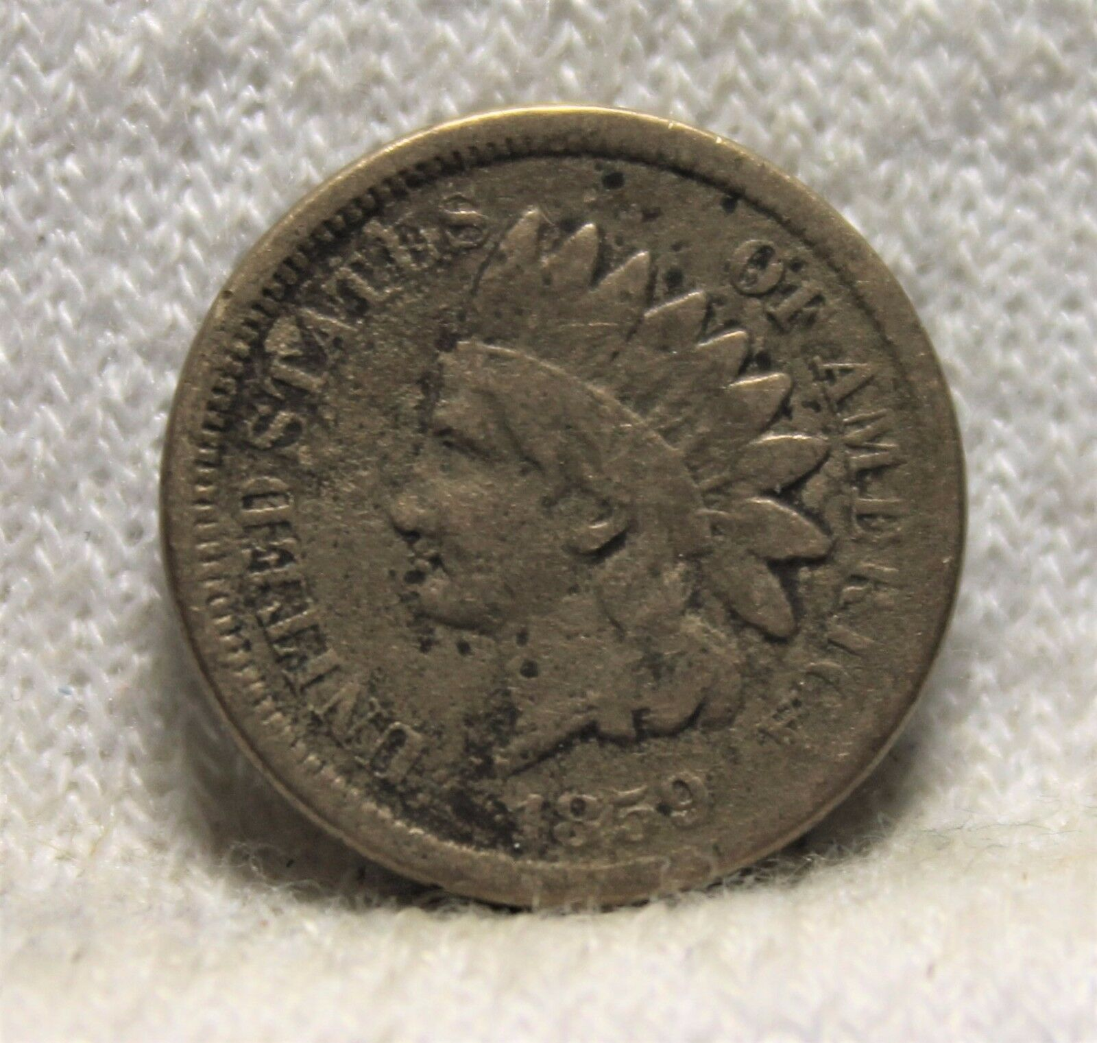 1859 Indian Head Penny - $12.95