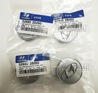2009-2015 HYUNDAI ELANTRA / AVANTE OEM Wheel Center Hub Cap 4pcs 1set