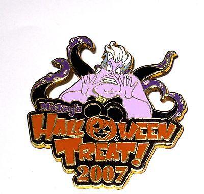 RARE Retired Disney Pin✿Villain Ursula Mickey's Halloween Treat MNSSHP Pumpkin (Little Mermaid Halloween Pumpkin)
