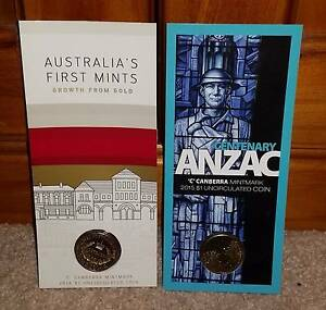 Mint your own coin's 2015 & 2016 (Canberra Mint) for sale  Mardi