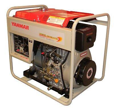Yanmar 6KW Diesel Generator With Wheel Kit and Handle Bar