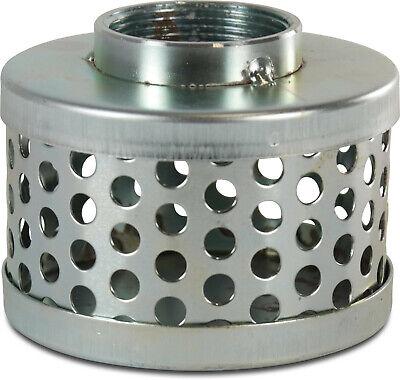 inde Stahl verzinkt Saugschlauch Zubehör (Verzinkt Korb)