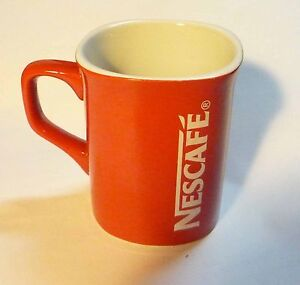 NESCAFE COFFEE Red Mug Cup from MALAYSIA Promotional Standard 3.5