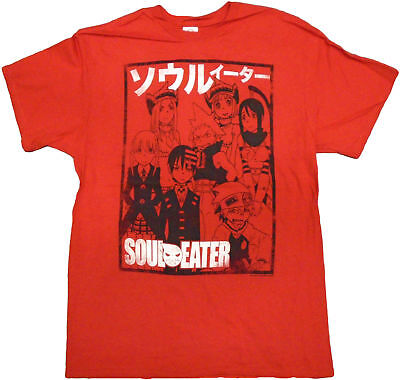 Soul Eater Team Outline Adult T-Shirt - Action adventure game, Action game, Fan