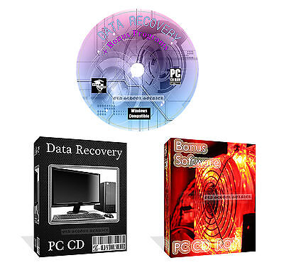 Lost Photos Images Pictures Data Recovery Restore Software CD DISK + Bonus Pack