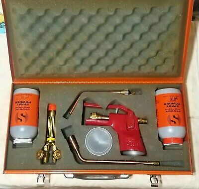 Stoody Jet Spray Welding Torch Kit Model K Hard Facing 10lb Powder 60tg 85tg