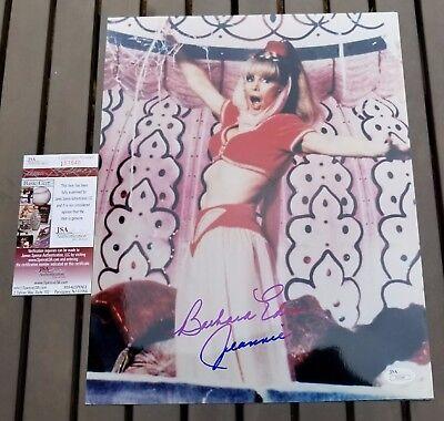 "Barbara Eden Signed 11x14 Photo Inscribed  ""Jeannie"" - JSA COA"