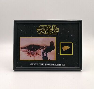 STAR WARS PROP SARLACC PIT PIECE RETURN OF THE JEDI DISPLAY RARE COA