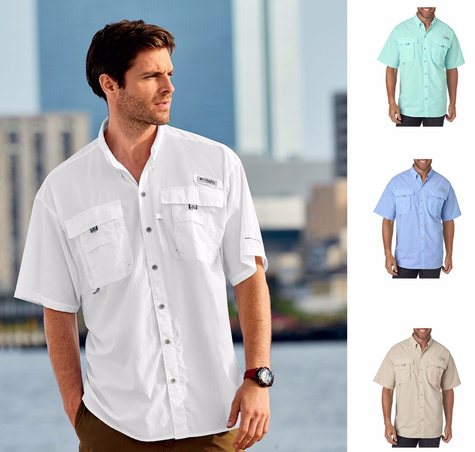 Golf Shirts With Pockets For Men