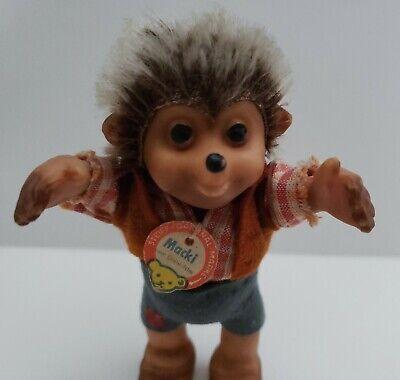 Vintage Macki Hedgehog Toy Figure by Steiff made in Germany