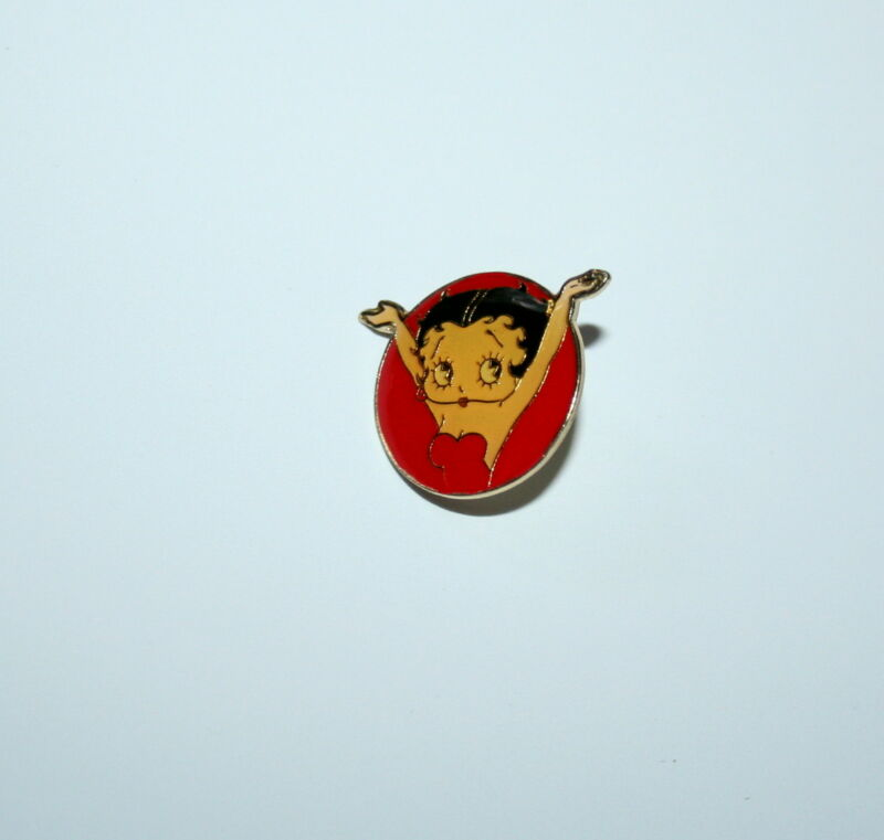 Rare Vintage Betty Boop Comic Collectible Pin 1980s New NOS