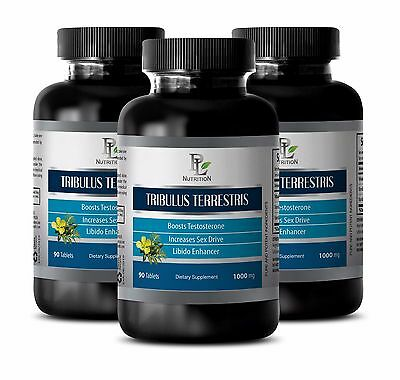 Libido Booster  Tribulus Terrestris 1000Mg  Testosterone Boosting Properties 270