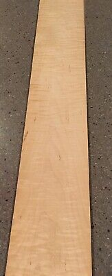 Curly Maple Wood Veneer 8 Sheets 34 X 4.5 8 Sq Ft