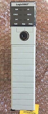 Allen-bradley 1756-l62 Series B  Controllogix Processor 5562  Logix Pac