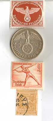 #-11)-1936-*german  Olympic and WWII stamps/coin.900%+1896-*greek Olympic stamp