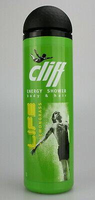 Lemon Gel (Cliff Life + Lemongrass Energy Shower Duschgel für Körper und Haar 15 X 250ml)