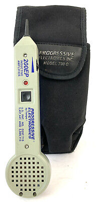 Progressive Electronics By Tempo Inductive Amplifier 200ep Wand And Pouch Only