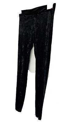 Mossimo Black Velvet Stetch Pants Legging Size M