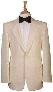 Mens Ivory White Tuxedo Wedding Dress Cruise Blazer Jacket
