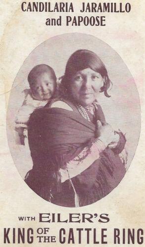 1905 native american Candilaria Jaramillo @ Eiler