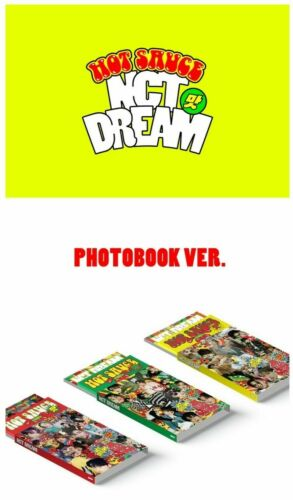 NCT DREAM HOT SAUCE 1ST ALBUM (PHOTOBOOK VER.)