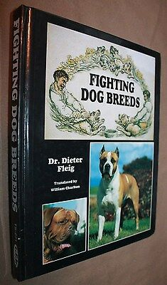 Fighting Dog Breeds Dieter Fleig 1996 Hardcover  Tfh Publications