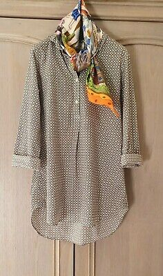 ORLA KIELY Fab Print Tunic Shirt Top - Size Small EXCELLENT blouse uniqlo