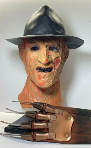 Vintage Original Don Post ™ Deluxe 1987 Freddy Krueger Latex Mask -WATCH VIDEO!