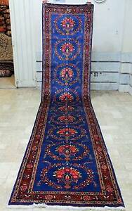 VERY RARE 5m LONG HAND WOVEN PERSIAN MASHAD RUNNER RUG CARPET Crows Nest North Sydney Area Preview
