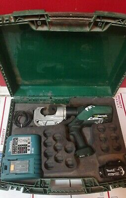Greenlee Ek1240kl Gator Battery-powered 12-ton Crimping Tool For Kearney Ph2 Die