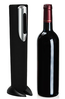 Electric Wine Bottle Opener with Automatic Corkscrew and Foil Cutter Remover