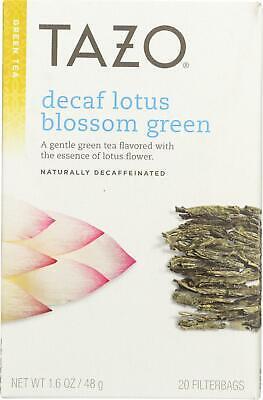 Lotus Green Tea - Decaffeinated (6 - 20 BAG) Decaffeinated White Tea Tea