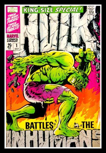"4.75"" The Incredible Hulk Battles the Inhumans #1 vinyl sticker. Comics decal."