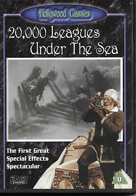 20,000 Leagues Under the Sea (1916, silent) genuine DVD - not DVD-R copy