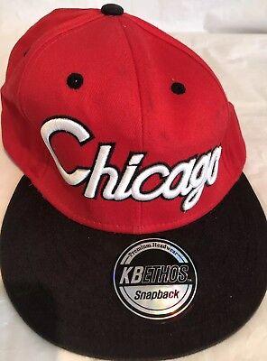 Chicago KB Ethos Snap Back Baseball Cap