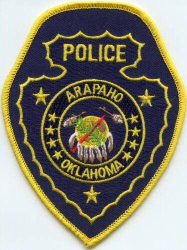 ARAPAHO OKLAHOMA OK POLICE PATCH