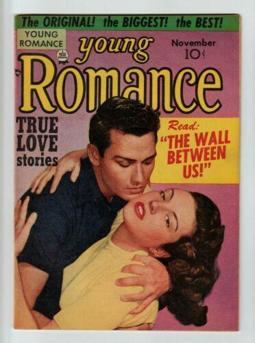 Young Romance #39 Comic Book 1951 Rare SImon, Kirby  VF