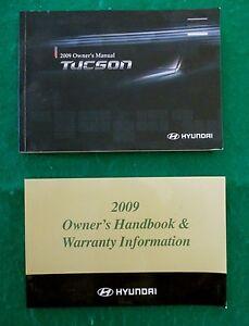 2009-09-Hyundai-Tucson-Owners-Manual-Near-New-V26